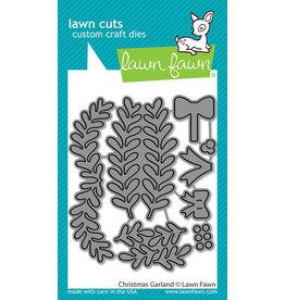 lawn fawn christmas garland dies