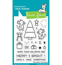 lawn fawn merry mice stamp