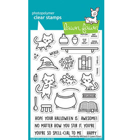 lawn fawn purrfectly wicked stamp