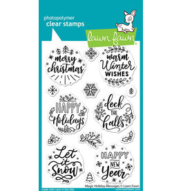 lawn fawn magic holiday messages stamp