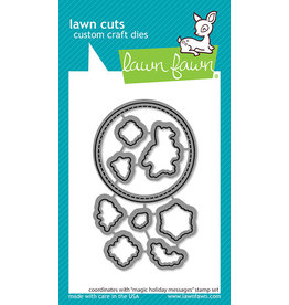 lawn fawn magic holiday messages lawn dies
