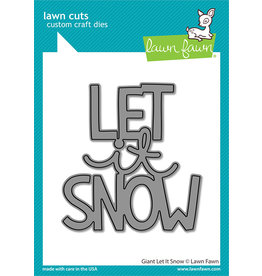 lawn fawn giant let it snow dies