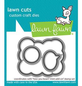 lawn fawn how you bean? mint add-on lawn dies