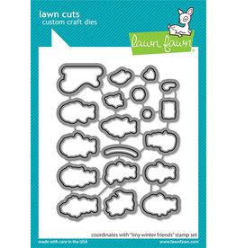 lawn fawn tiny winter friends lawn dies