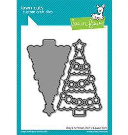 lawn fawn jolly christmas tree dies