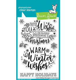 lawn fawn giant holiday messages stamp