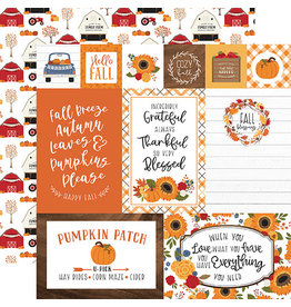 Echo Park Fall Paper: Multi Journaling Cards