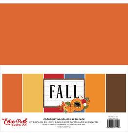 Echo Park Fall: Fall Solids Kit
