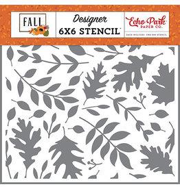 Echo Park Fall: Autumn Time Stencil