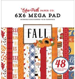 Echo Park Fall: Cardmakers 6X6 Mega Pad