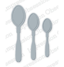 Impression Obsession Soup Spoons Die