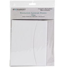 49 & Market Landscape Pockets: White
