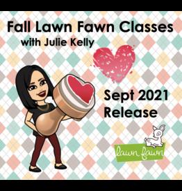 Julie Kelly 10/17/21 Fall Lawn Fawn w/Julie