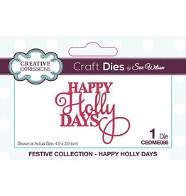 Creative Expressions Happy Holly Days