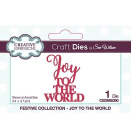 Creative Expressions Joy to the World Die