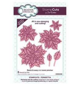 Creative Expressions Stampcuts- Poinsettia