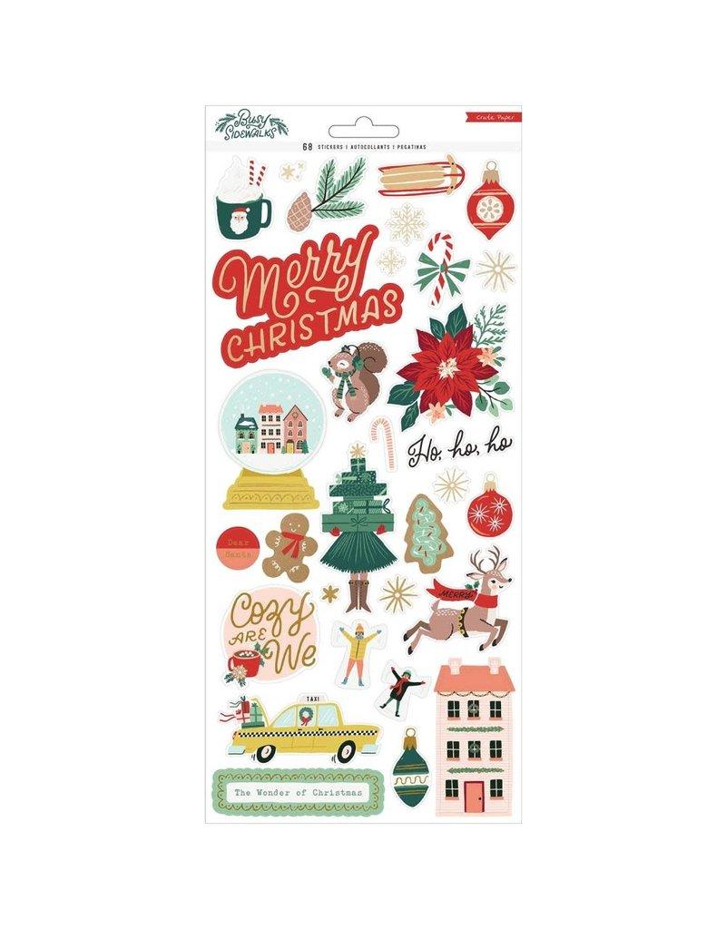 american crafts Busy Sidewalks: 6X12 Stickers