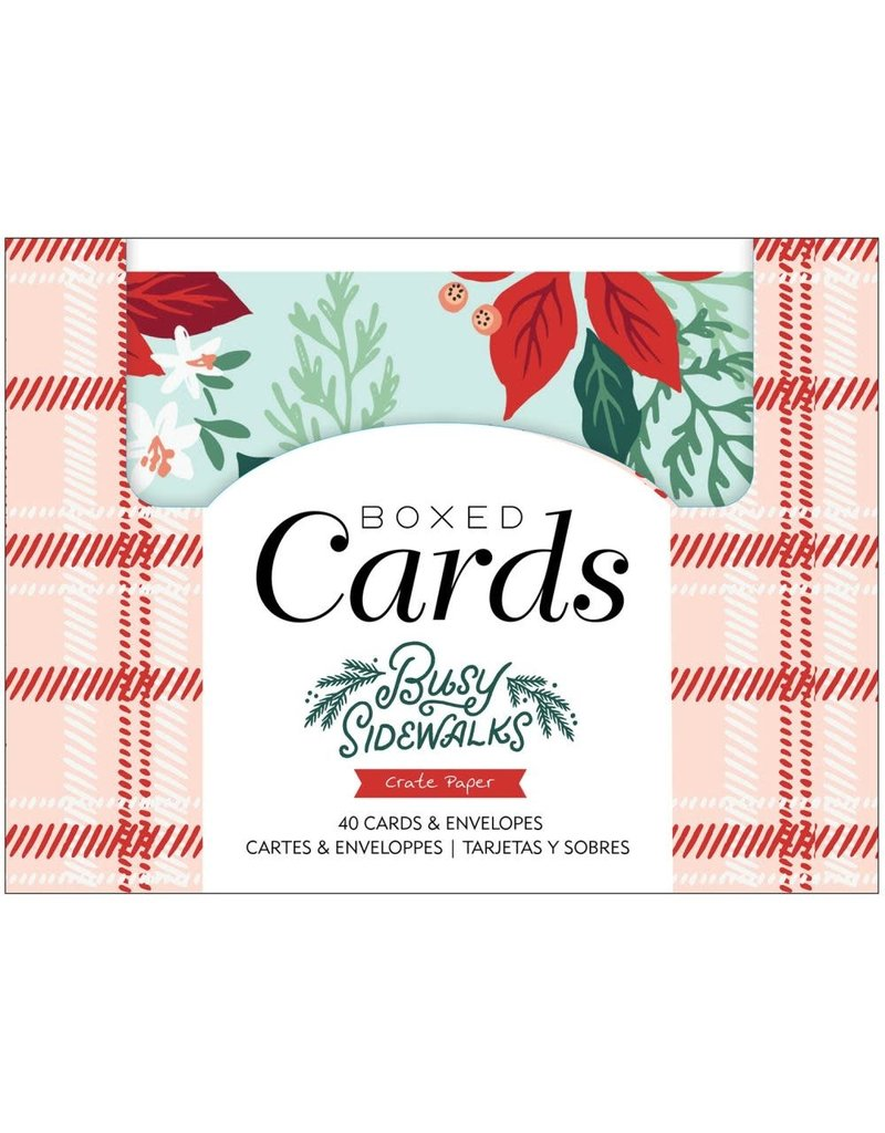 american crafts Busy Sidewwalks: Cards&Envelopes