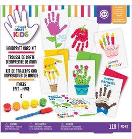 american crafts Craft Kits: Handprint Cards