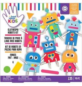 american crafts Craft Kits: Robots