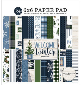Carta Bella Welcome Winter:  6x6 Paper Pad