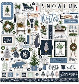 Carta Bella Welcome Winter:  Element Sticker
