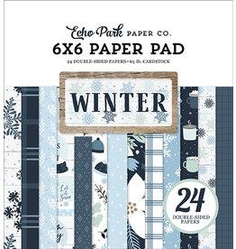 Echo Park Winter: 6x6 Paper Pad