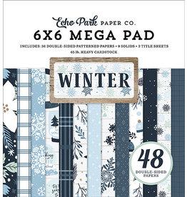 Echo Park Winter: Cardmakers 6X6 Mega Pad
