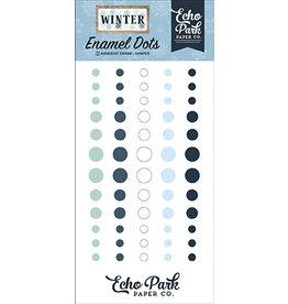 Echo Park Winter: Enamel Dots