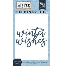 Echo Park Winter: Wishes Die Set