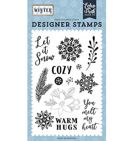 Echo Park Winter:Cozy  Stamp Set