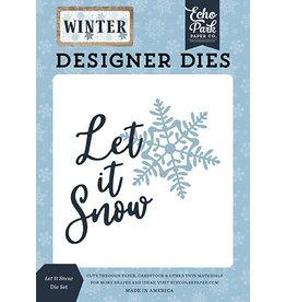 Echo Park Winter:Let It Snow Die Set