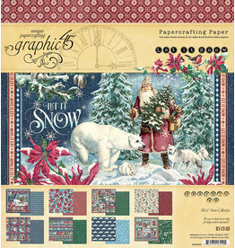 Graphic 45 Let It Snow:  8x8 pad