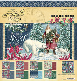 Graphic 45 Let It Snow:  Collection Pack