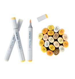 copic YELLOWS Copic Sketch Markers