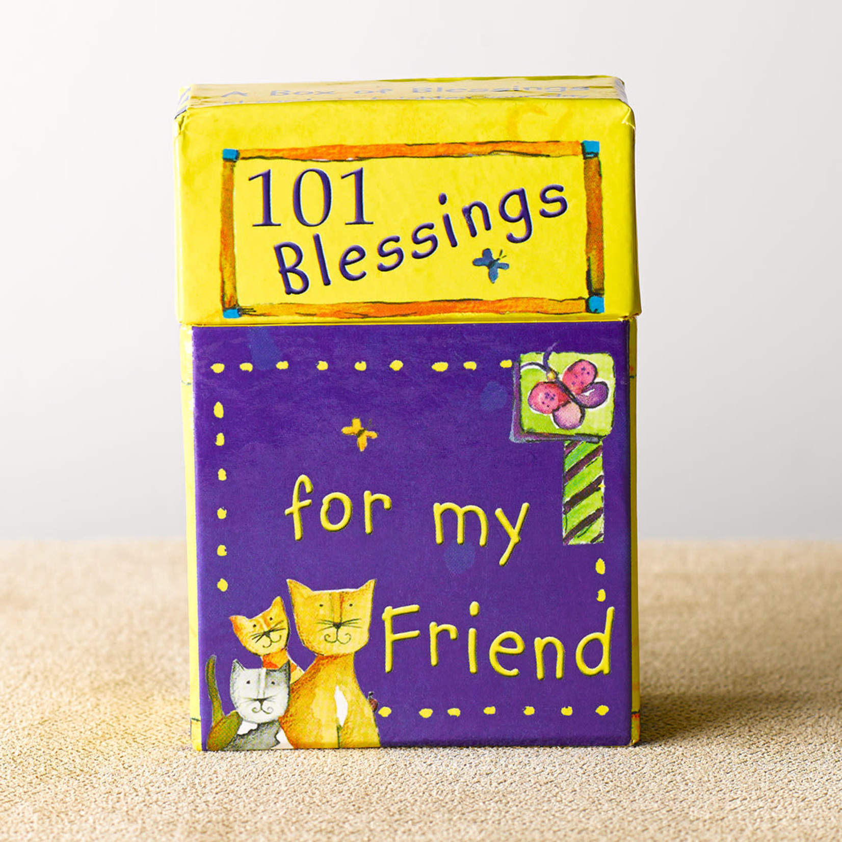 Christian Art Gifts 101 Blessings for My Friend Box of Blessings