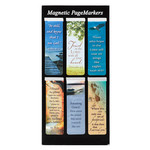 Christian Art Gifts Classic Collection - Magnetic Bookmark Set