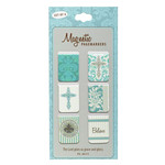 Christian Art Gifts Believe - Mini Magnetic Bookmarks Set