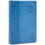 環球聖經公會 The Worldwide Bible Society 心靈關懷聖經:新譯本.標準裝.藍色儷皮銀邊.繁體