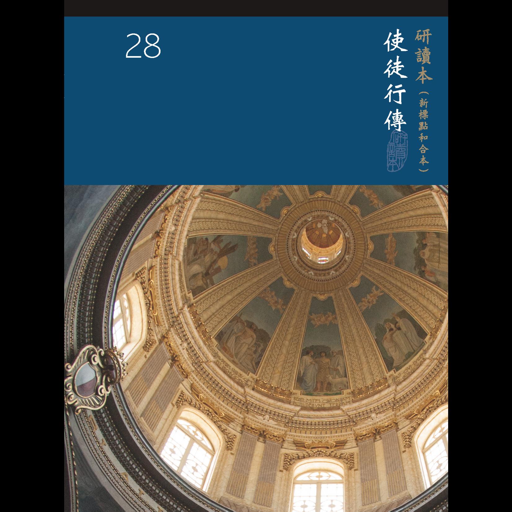 台灣聖經公會 The Bible Society in Taiwan 聖經研讀本(新標點和合本)系列(神版):使徒行傳