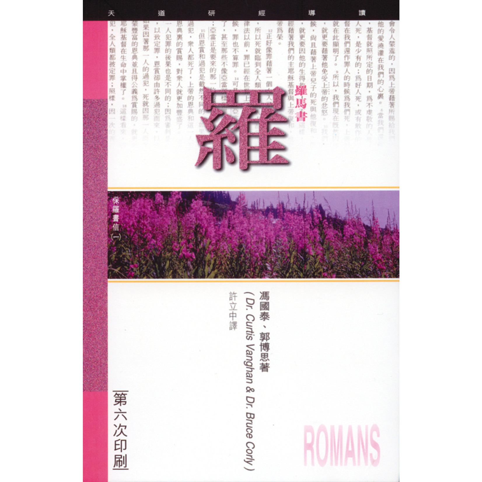 天道書樓 Tien Dao Publishing House 天道研經導讀:羅馬書
