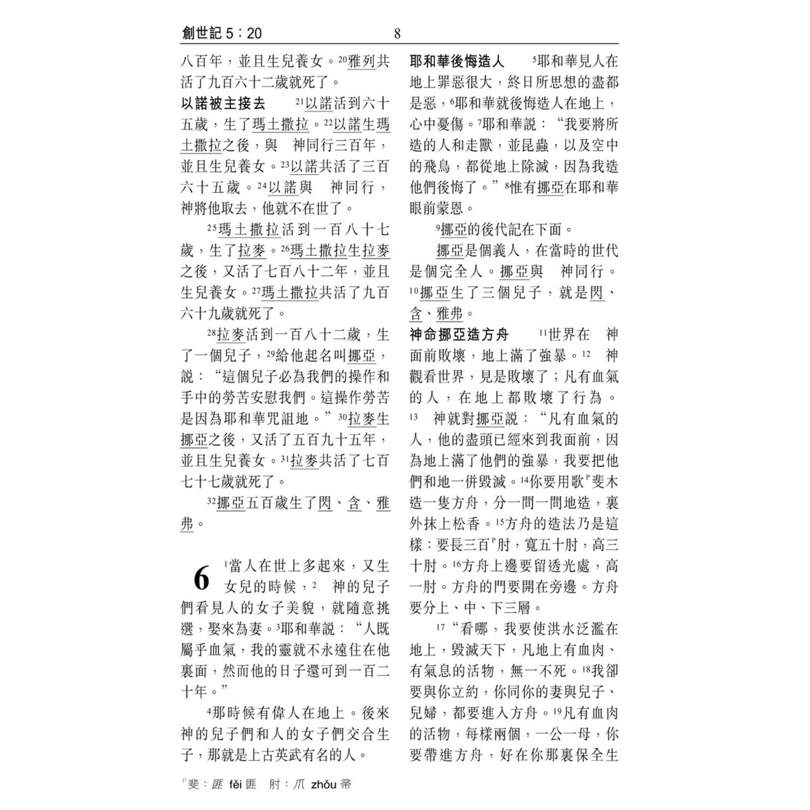 漢語聖經協會 Chinese Bible International 聖經.和合本.祈禱應許版.輕便本.拇指版.黑色仿皮面.金邊.拉鏈