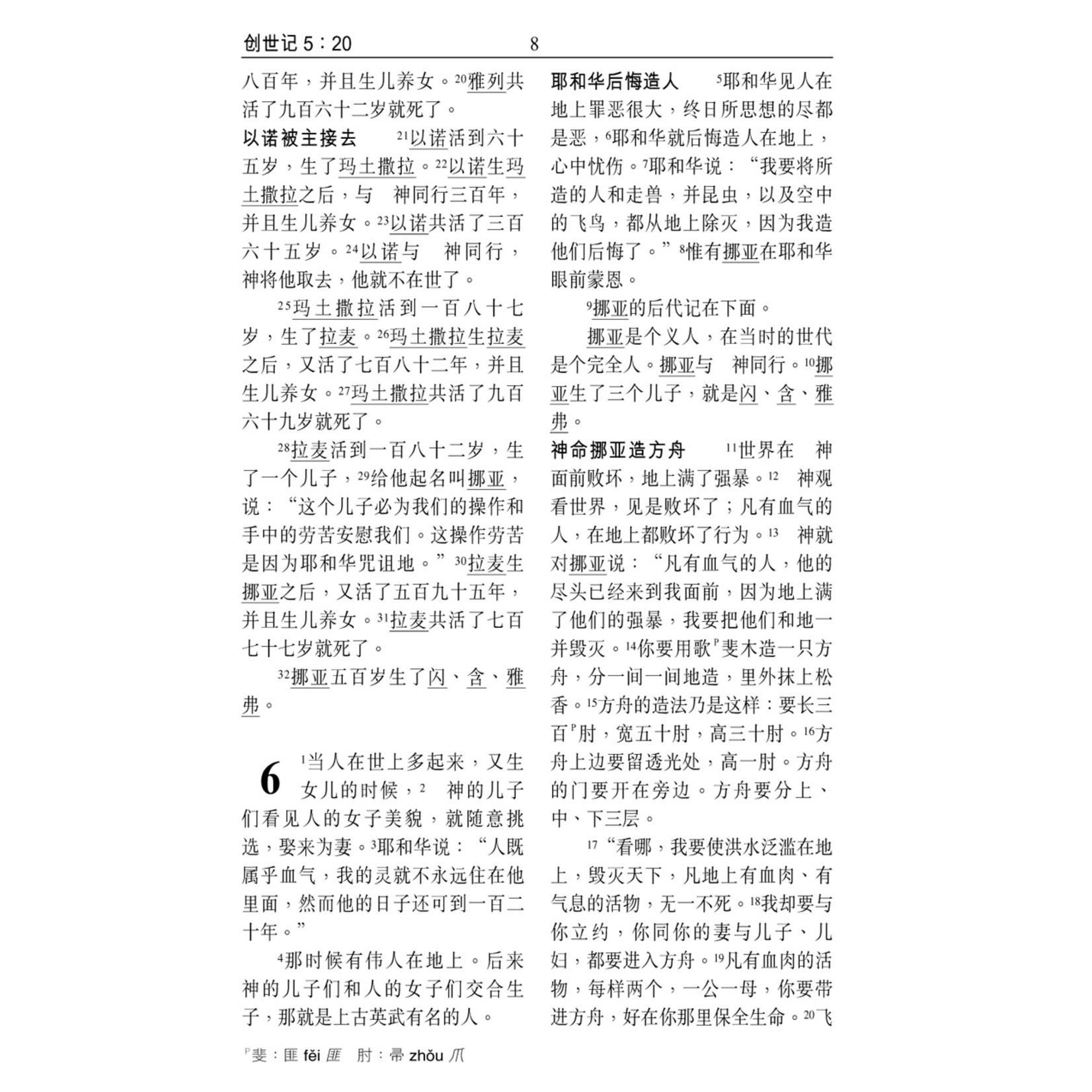 漢語聖經協會 Chinese Bible International 和合本.祈祷应许版拇指版.黑色仿皮面.金边.拉链 Union Version (Prayer & Promise Edition) (Black Leather Zipper Gilt Edge)