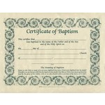B&H Publishing Group Baptism - Parchment (8-1/2 x 11) (Pack of 6)