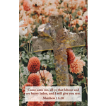 B&H Publishing Group 喪禮列序單 Bulletin - Rest (Funeral) (Pack of 100)