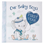 Christian Art Gifts Our Baby Boy's First Year Memory Book