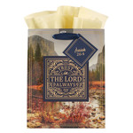 Christian Art Gifts Trust in the LORD Always - Medium Gift Bag - Isaiah 26:4