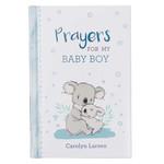 Christian Art Gifts Prayers for My Baby Boy Prayer Book