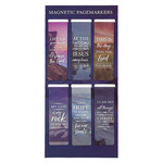 Christian Art Gifts Lift Up Your Hands - Magnetic Bookmark Set - Psalm 134:2