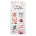Christian Art Gifts Taste And See Watercolor - Mini Magnetic Bookmark Set